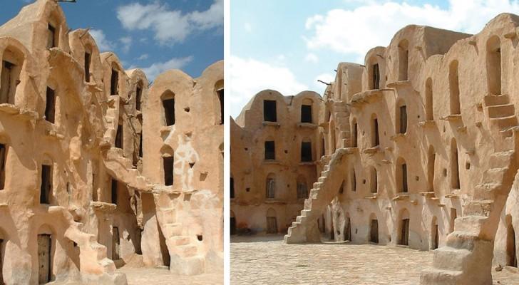 Riconoscete questi splendidi granai del XV secolo? Li avete visti sicuramente in un film...