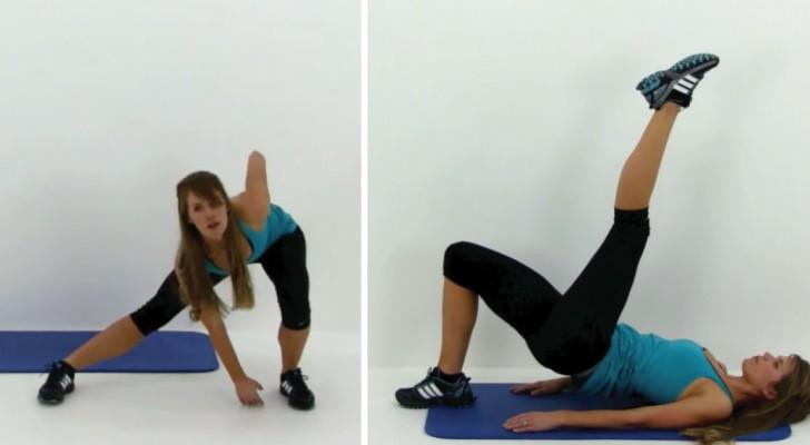 Vous avez peu de temps et vous voulez tonifier vos muscles? Avec ces exercices, il suffit de 10 minutes par jour!