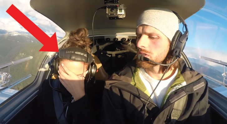 Who pretends engine failure just to propose? He does!