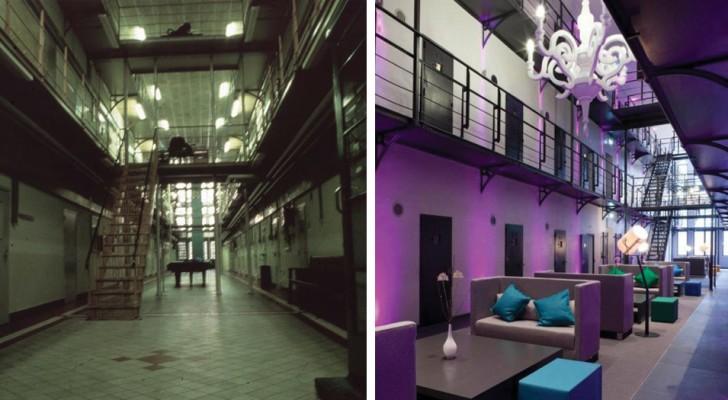 Gevangenissen worden omgebouwd tot hotels omdat er geen gevangenen meer zijn om op te sluiten.