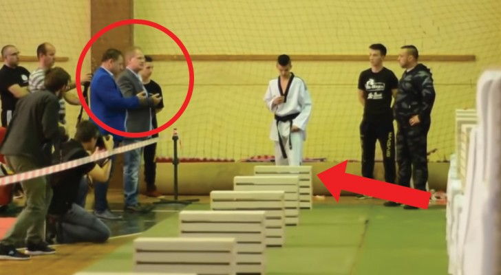 Taekondo Teen Champion wins world record!