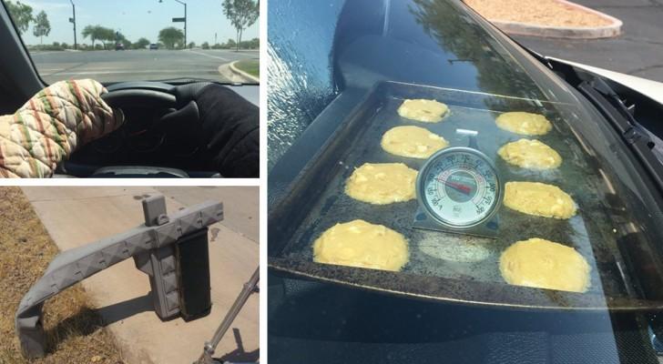 Le temperature in Arizona sono così alte che le cose hanno iniziato a sciogliersi