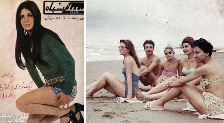 16 foto's helpen je een idee te geven van het leven van Iraanse vrouwen voor de islamitische revolutie