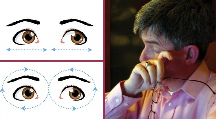 10 exercices pratiques pour soulager les yeux et améliorer la vue