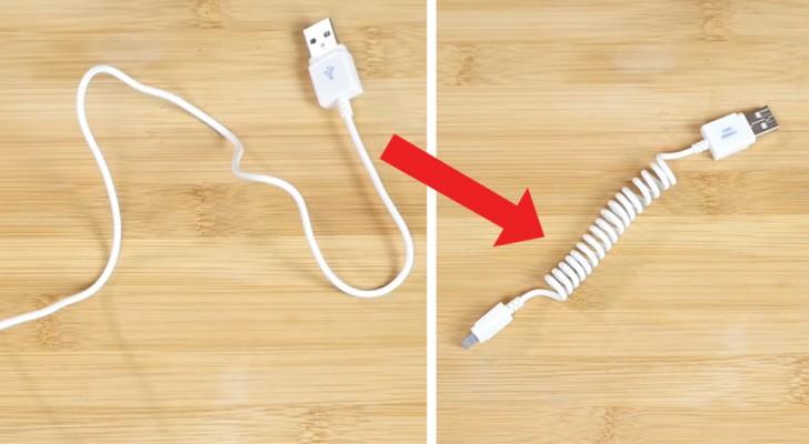 Comment transformer un câble normal en un spiralé