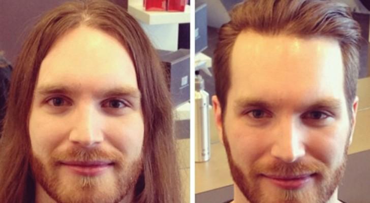 Hier einige Männer die nach einem Haarschnitt DEUTLICH attraktiver wurden!
