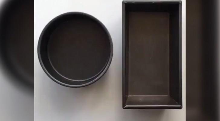 Como forrar as formas com papel de forno!
