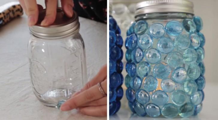 Conservate sempre i barattoli di vetro? Ecco un'idea di riutilizzo rapida che vi conquisterà