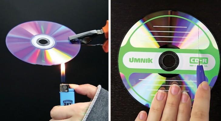 du wolltest nicht gebrauchte cds wegwerfen nach diesem video wirst du es dir anders berlegen. Black Bedroom Furniture Sets. Home Design Ideas