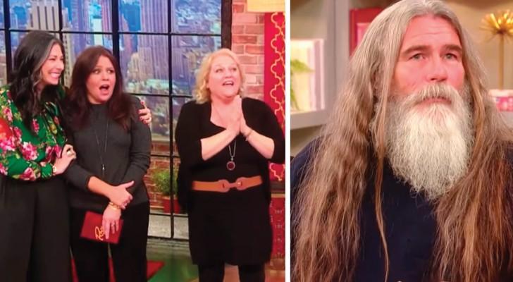Não corta os cabelos desde que sua mãe morreu: quando mostra a sua transformação todos ficam surpresos!