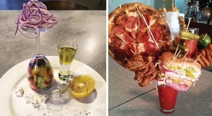 Alcuni ristoratori che hanno presentato i loro piatti in maniera a dir poco CORAGGIOSA