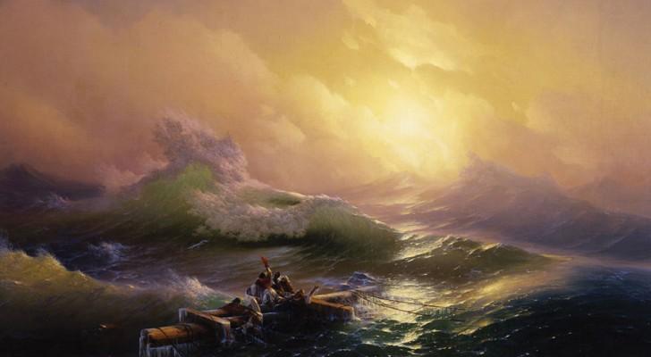 De 'Onmogelijke' lichtinval in de golven in deze 19e eeuwse schilderijen komt van de meester van het sublieme
