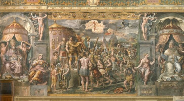 Deux incroyables peintures de Raphael retrouvées dans les musées du Vatican: les allégories de la Justice et de l'Amitié