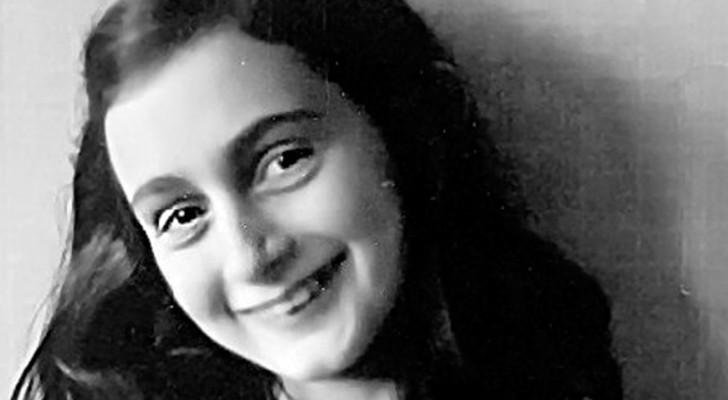 Questo è l'unico filmato in cui compare Anna Frank