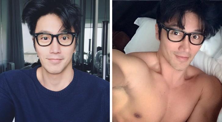 Questo fotografo asiatico di 50 anni ha stupito il mondo con il suo fisico da 20enne