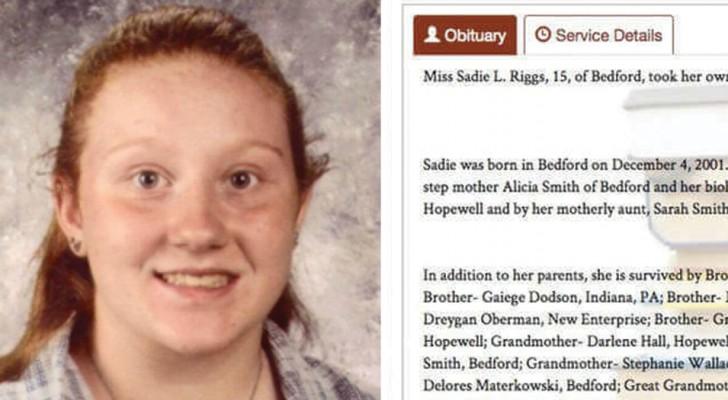 Sie starb mit 15 Jahren: Die Familie schreibt eine Nachricht, die unsere Kinder lesen sollten