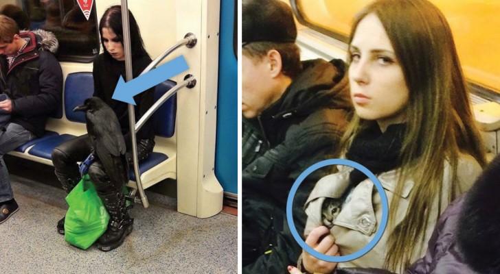 19 van de raarste figuren die mensen ooit in de metro zijn tegengekomen