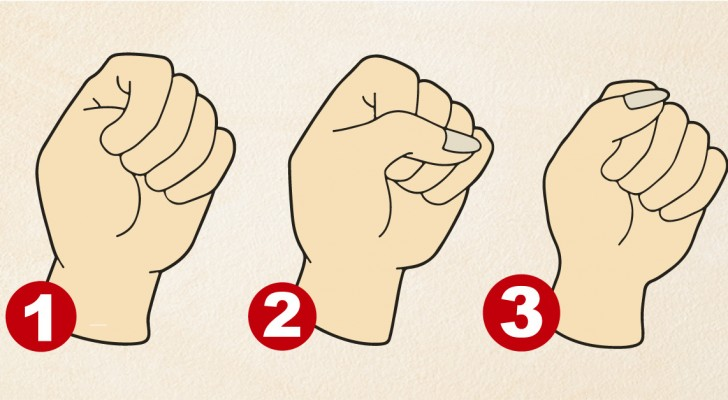 What your closed fist reveals about YOU!