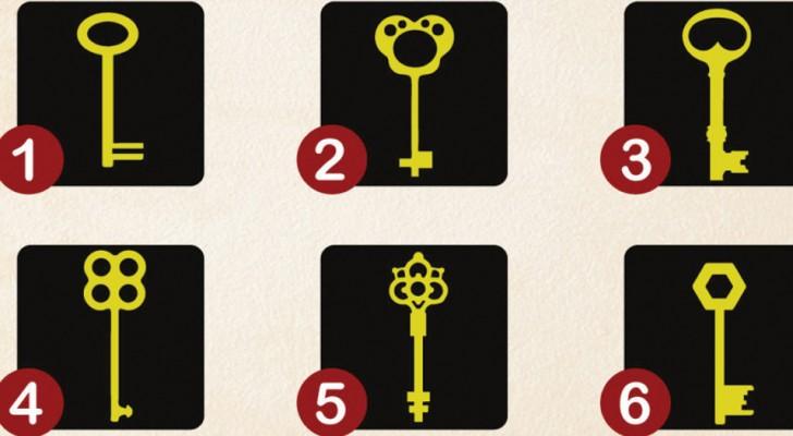 Met welke sleutel zou jij je schatkist in je bewustzijn willen openen? Je keuze heeft een betekenis