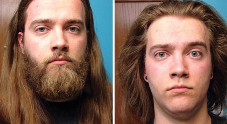 16 mannen voor en na het scheren van hun baard: je gelooft nauwelijks dat ze dezelfde persoon zijn