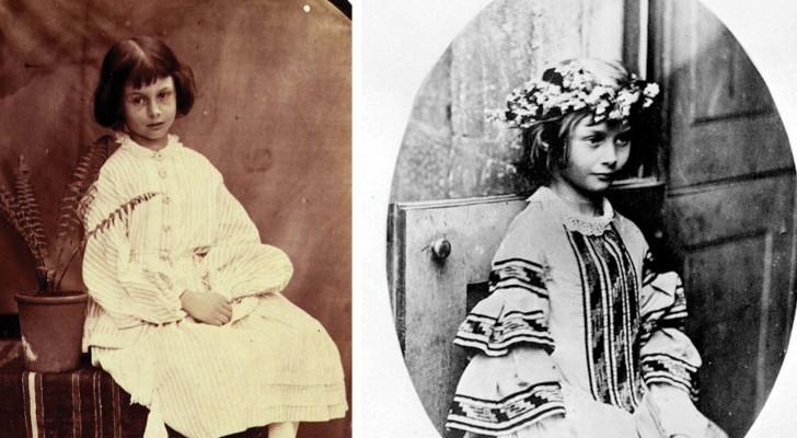 La curieuse histoire et les VRAIES photos de la petite Alice au pays des merveilles