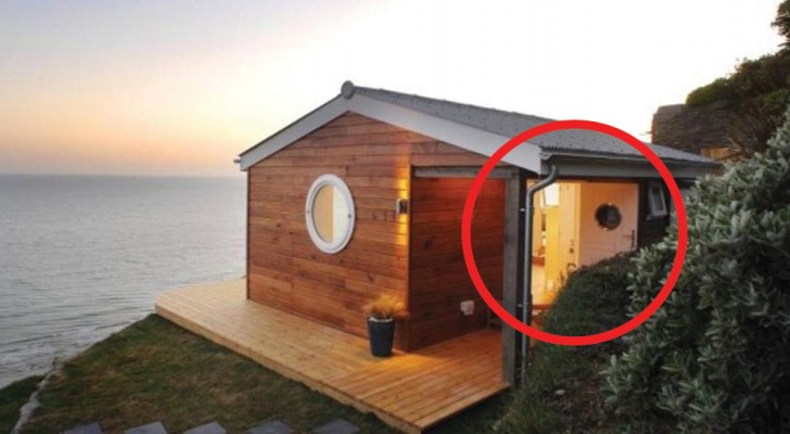 Vanaf buiten lijkt het een normaal huis, maar aan de binnenkant tref je een parel van de architectuur aan!