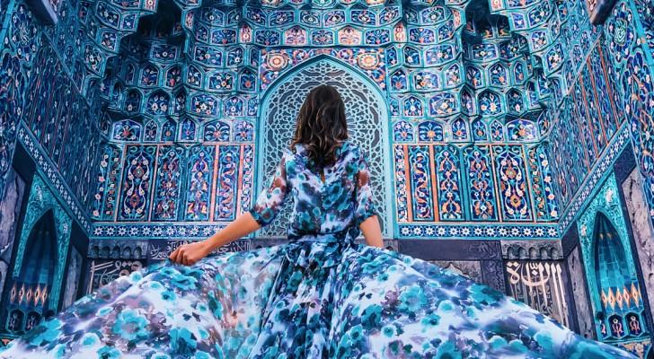 J'ai fait le tour du monde pour photographier des femmes dans des vêtements élégants et devant les plus beaux endroits du monde