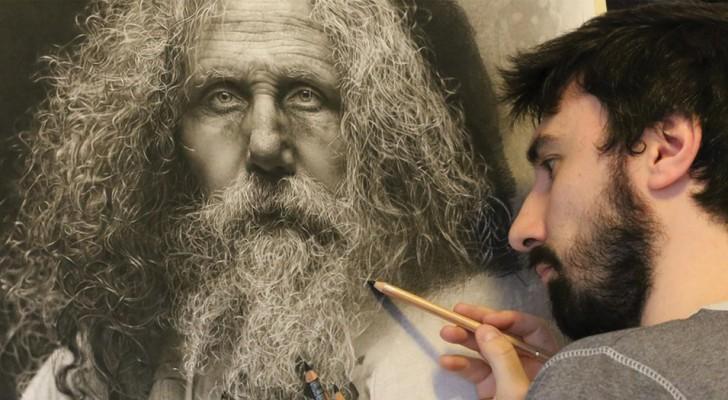 Des centaines d'heures pour faire un tableau: ses œuvres hyperréalistes sont à couper le souffle.