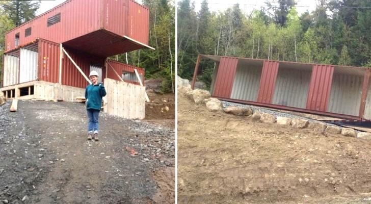 Cette femme a construit la maison de ses rêves en utilisant 4 containers maritimes