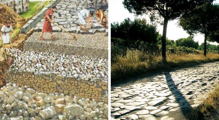 La forza dei Romani: ecco come venivano costruite le strade e come hanno fatto a resistere per secoli