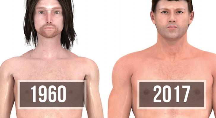 Ecco come è cambiato l'ideale di uomo dal 1870 ad oggi