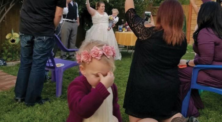 Bambini ai matrimoni: queste fotografie dicono TUTTO