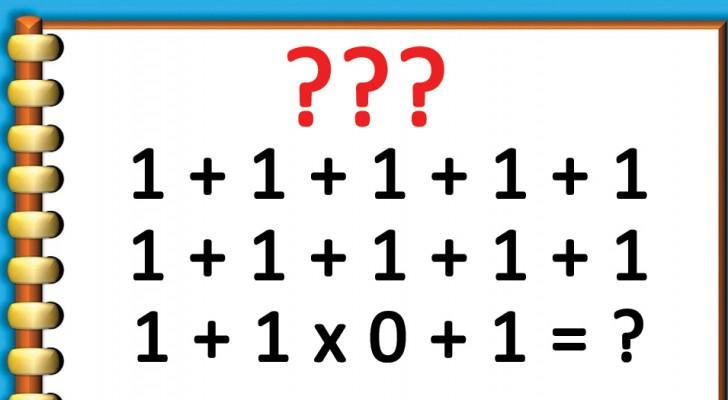 Piccolo enigma aritmetico: sapete risolverlo?