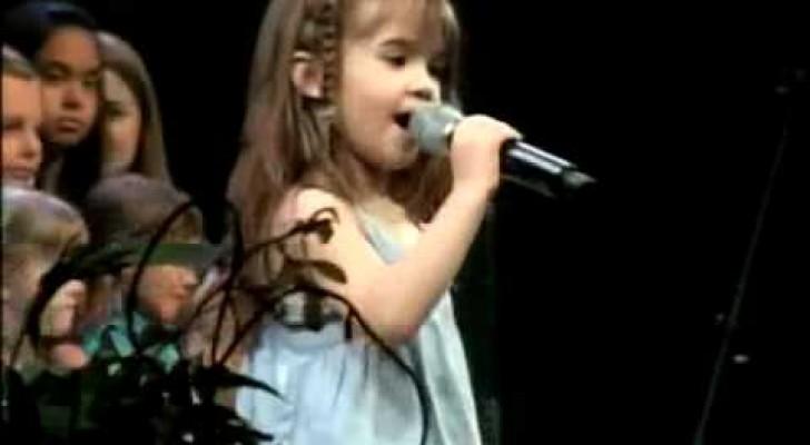 Mit fünf Jahren ist sie schon ein echter Star