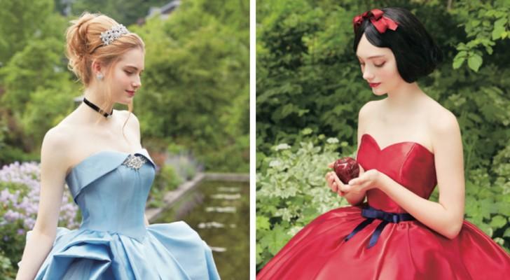 Disney hat die erste Brautmodenkollektion heraus gebracht, die von Disney Prinzessinnen inspiriert wurde