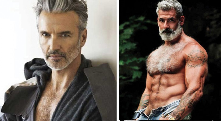 Twenty over 40 male models topple long-held prejudices regarding male beauty
