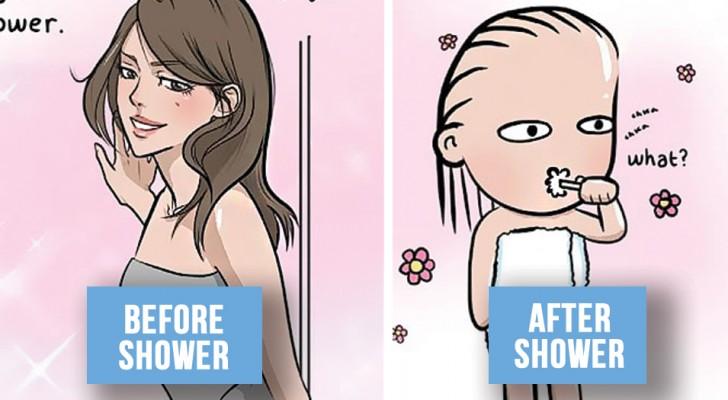 16 komische Bildchen die perfekt beschreiben was geschieht, wenn eine Beziehung stabil wird