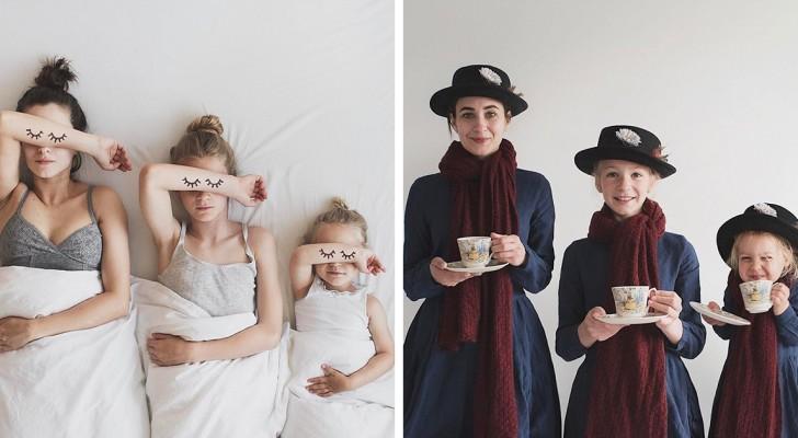 Deze moeder en haar kinderen dragen allemaal hetzelfde en ze veroveren het internet ermee