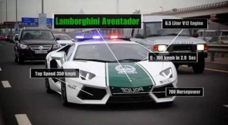 Die Supercars der Polizei in Dubai