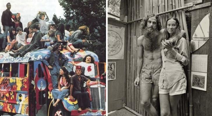 La vita delle comunità hippy degli anni '70 mostrata in 14 scatti rivelatori
