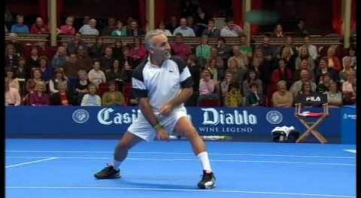 Lo showman del tennis