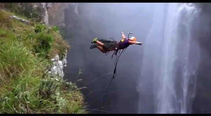 Ein Sprung aus 200 Metern - Adrenalin pur!