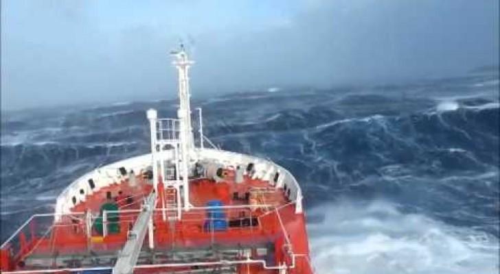 La furie de l'océan