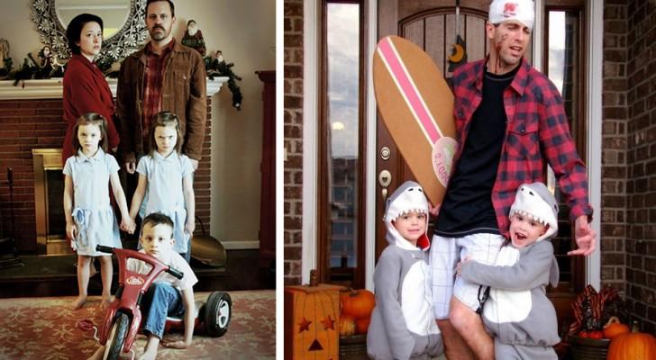 19 beispiele genialer familien halloween kost me. Black Bedroom Furniture Sets. Home Design Ideas