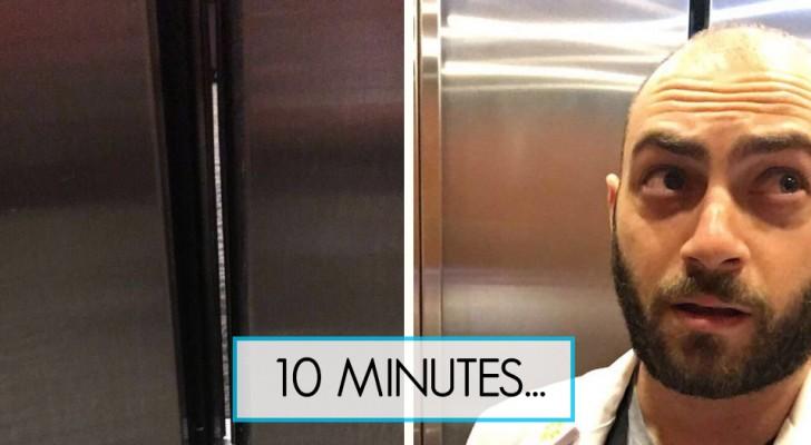 Er steckt im Aufzug fest: Die Geschichte dieses Studenten ist super komisch!
