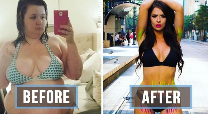 20 vorher-nachher Bilder die zeigen, wie sehr man sich verändern kann
