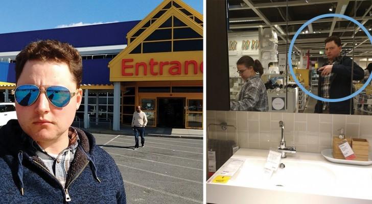 Trascinato da IKEA per l'ennesima volta: la cronaca di questo marito è uno spasso