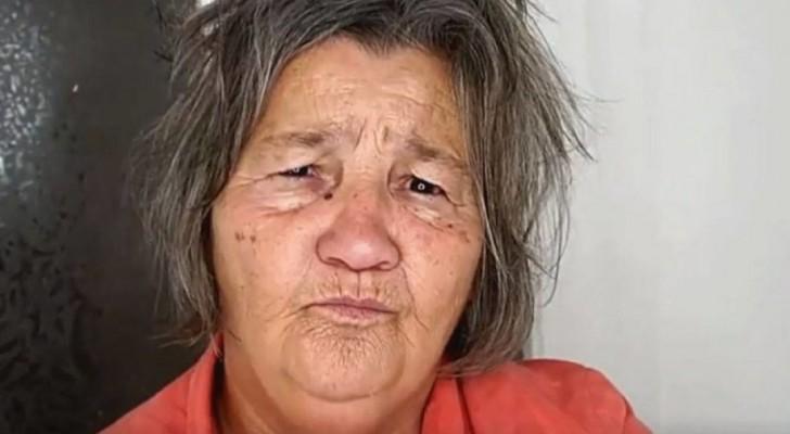 De kleindochter van deze vrouw is visagiste: voor haar 71-jarige verjaardag geeft ze haar een ongelooflijk andere look
