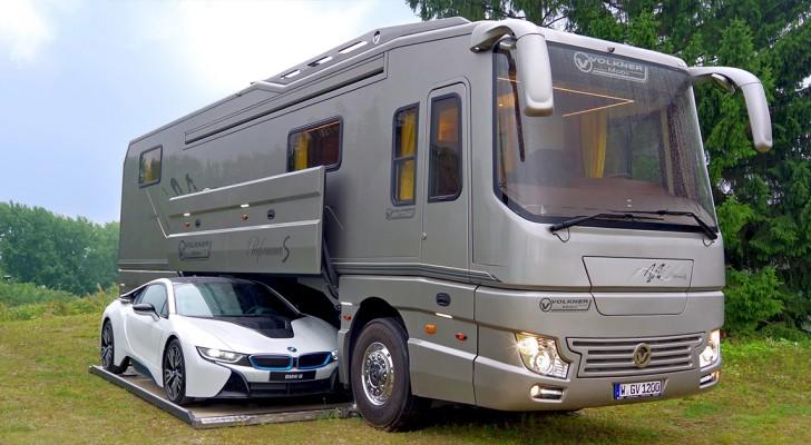 Dieser Camper kostet 2 Millionen Dollar und ist ein wahres Juwel der Technik und des Komforts
