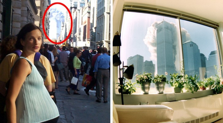 Some rare photos taken on September 11 that allow us to relive those moments from a different point of view